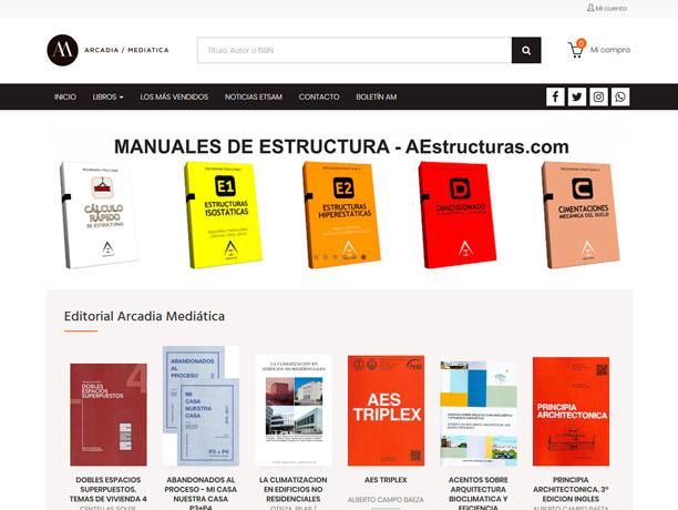 web arcadia mediatica