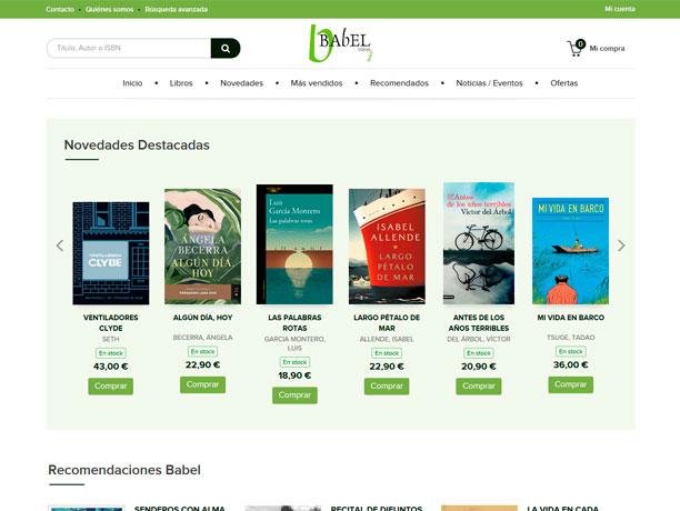 web libreria babel