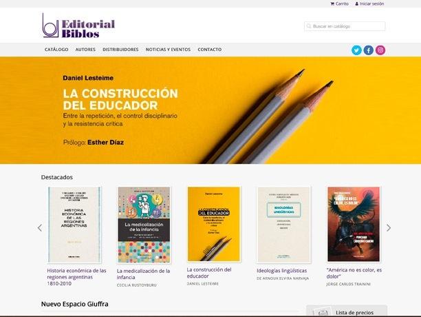 web editorial biblos