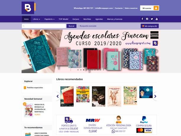 web libreria brea