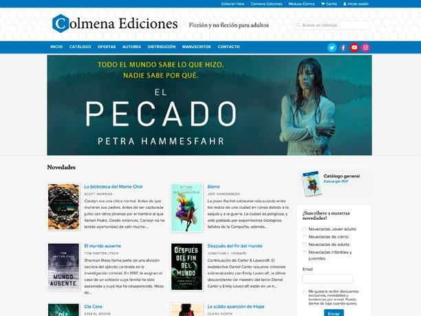 web colmena ediciones