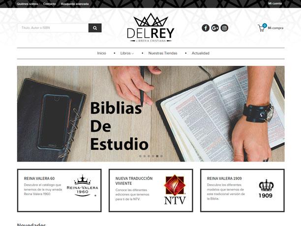 web libreria cristiana del rey