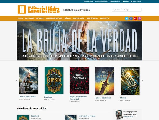 web editorial hidra