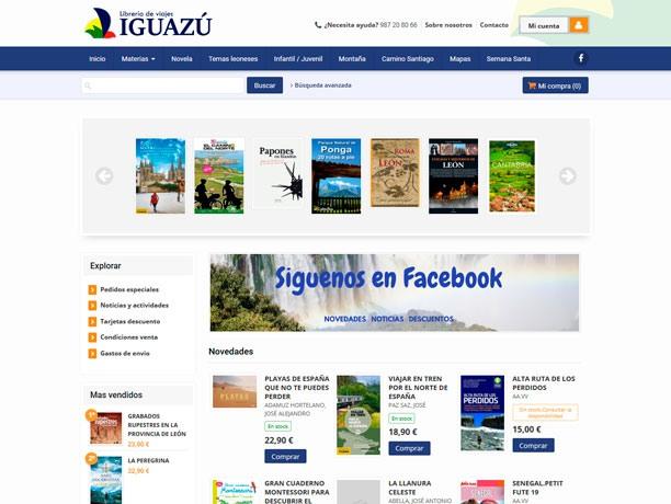 web libreria iguazu