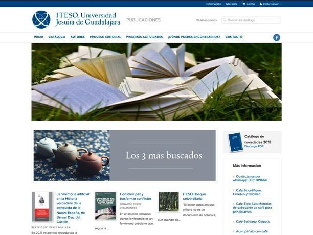 web iteso publicaciones