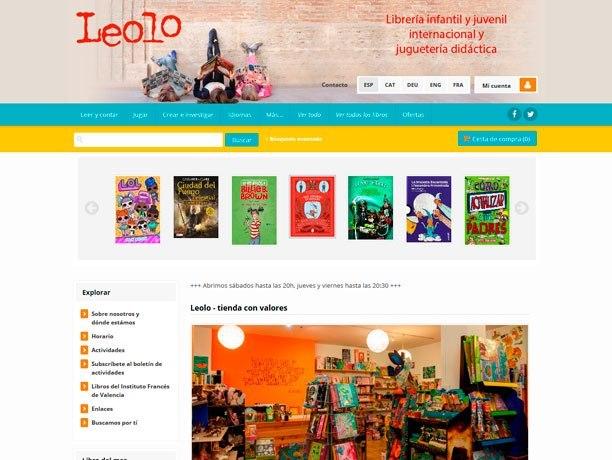 web libreria leolo