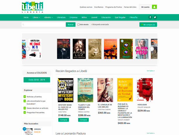 web libreria libelli