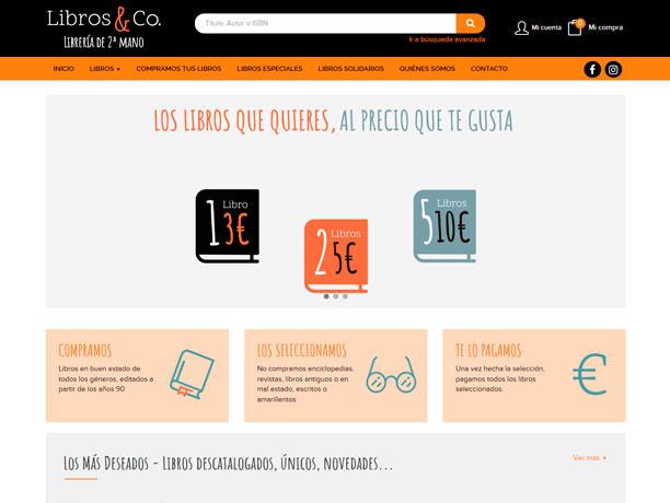 web libros&co