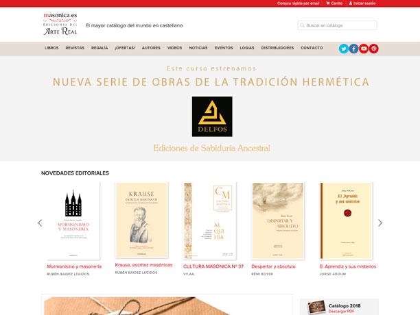 web editorial masonica