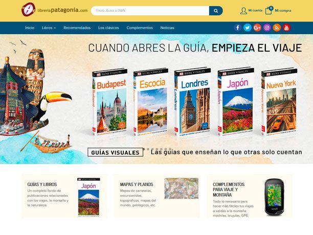 web libreria patagonia
