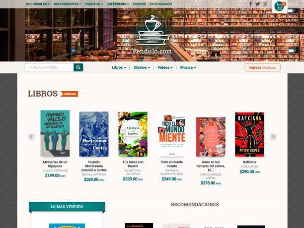 web libreria pendulo
