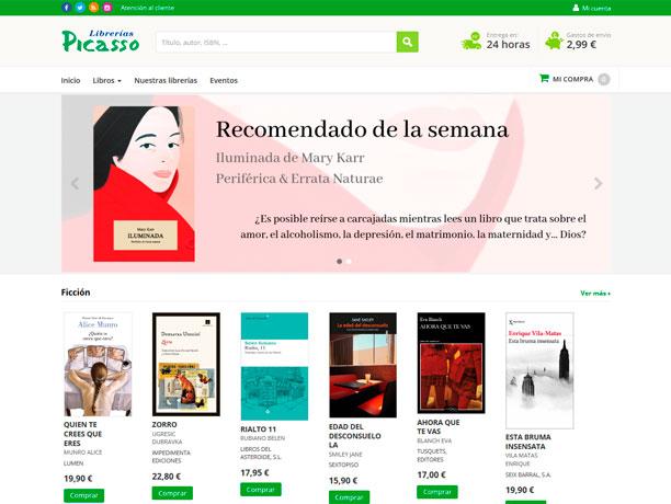 web libreria picasso