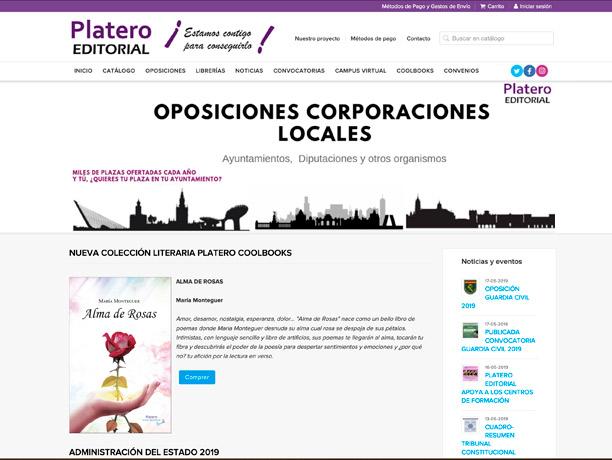 web editorial platero