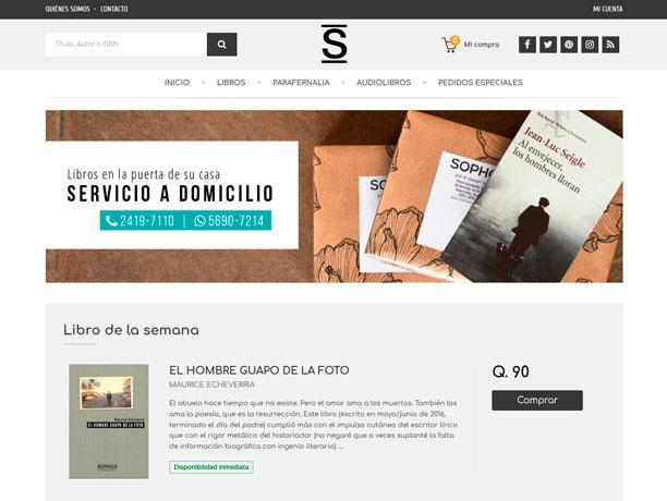 web libreria sophos