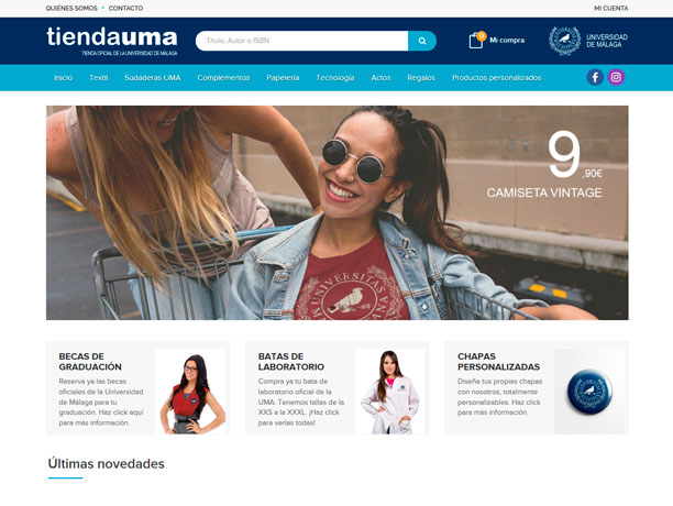 web tiendauma