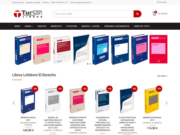 web tursan libros