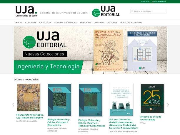 web editorial uja