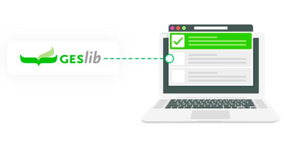 conexion geslib y weblib
