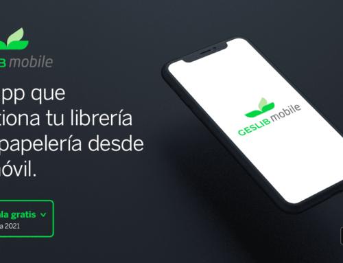 Geslib Mobile: La app para gestionar tu librería y/o papelería