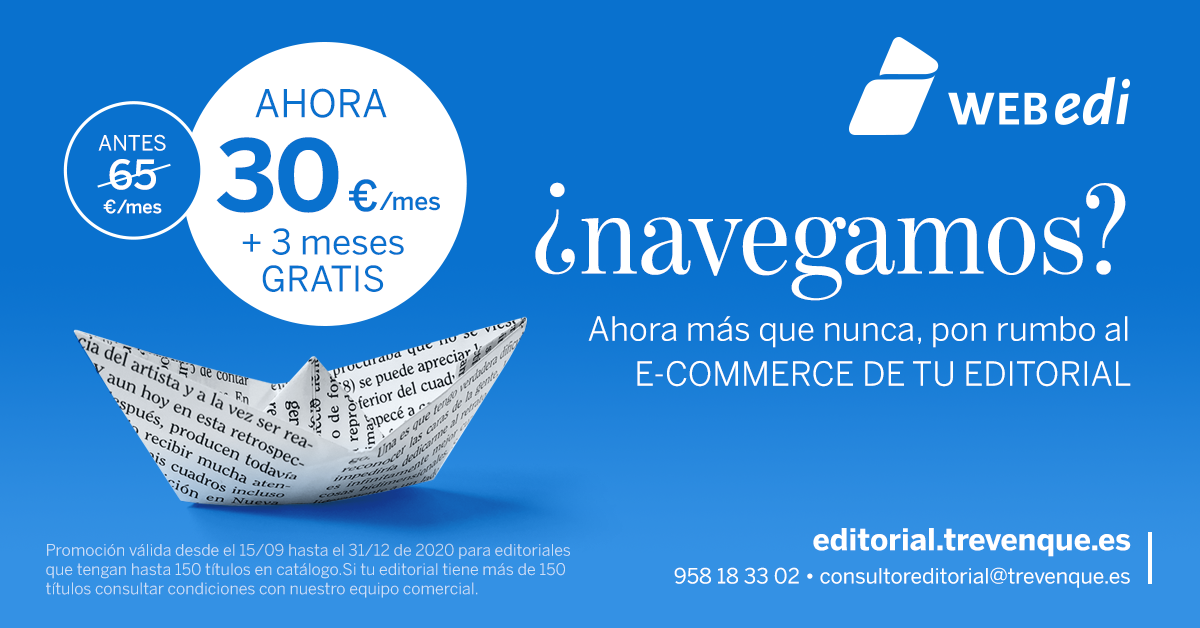 Pon rumbo al e-commerce de tu editorial con Webedi