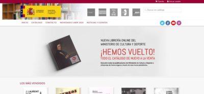 Nueva web del servicio de publicaciones del Ministerio de Cultura y Deporte