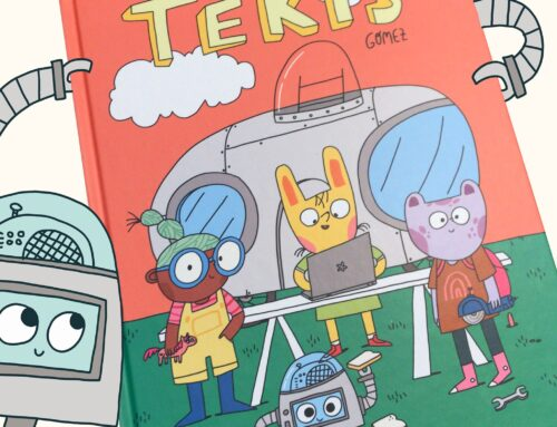 NubeOcho Ediciones se adentra con Tekis en el mundo del cómic