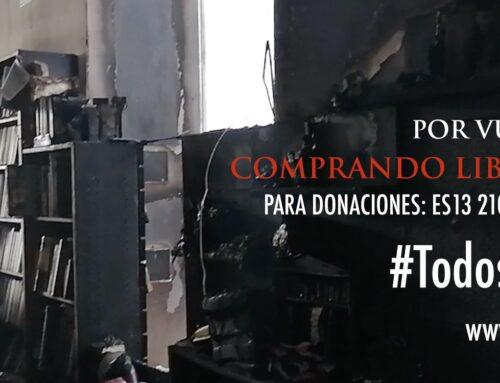 La Librería Proteo recibe una ola de solidaridad tras el incendio en ...