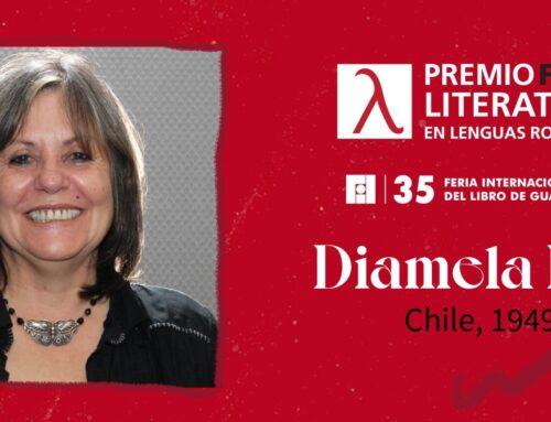 Diamela Eltit, premio FIL de Literatura en Lenguas Romances
